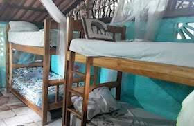 camas para voluntarios