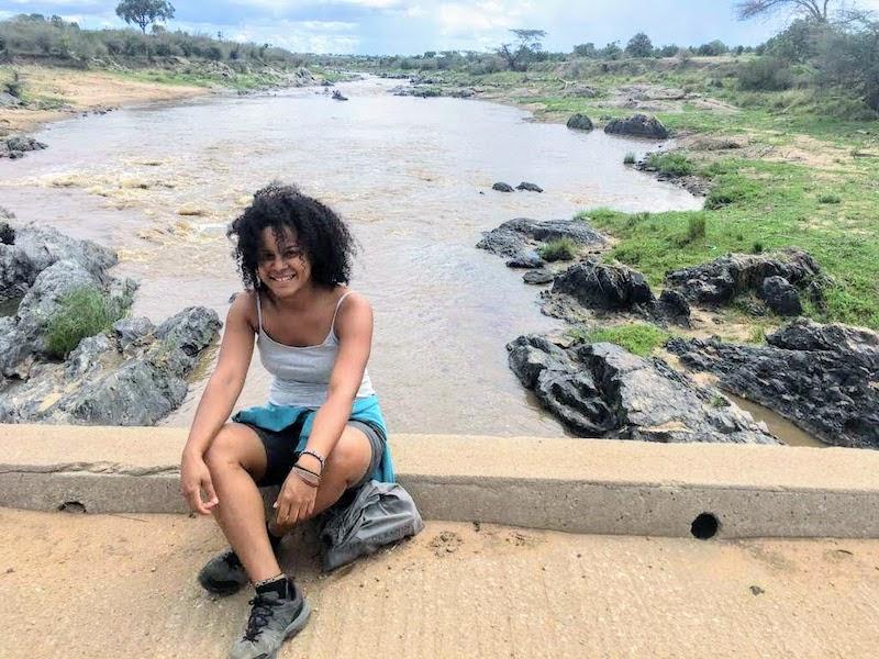 Viajando por le mundo Evelin Pineda